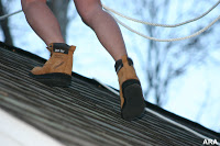 The Boots Are The Brainchild Of Dan Cougar, A Virginia Man Who Spent 20  Years Working As A Professional Roofer. U201cAt One Point Back In The Mid  1990s, ...